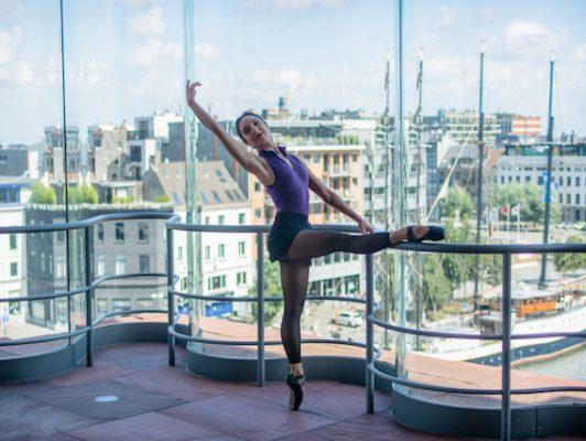 Tatevik Mkrtoumian, ballet workout, ballerina, het mas, balletschool antwerpen