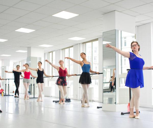 balletlessen bij Tatevik Mkrtoumian, barre